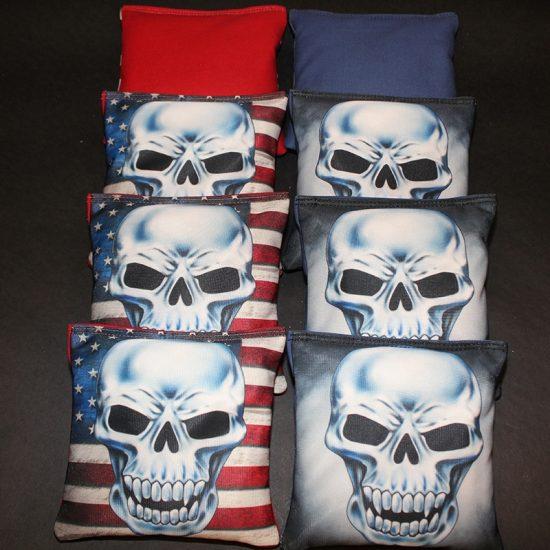 American Vampire Skull 8 Custom Bags - 117