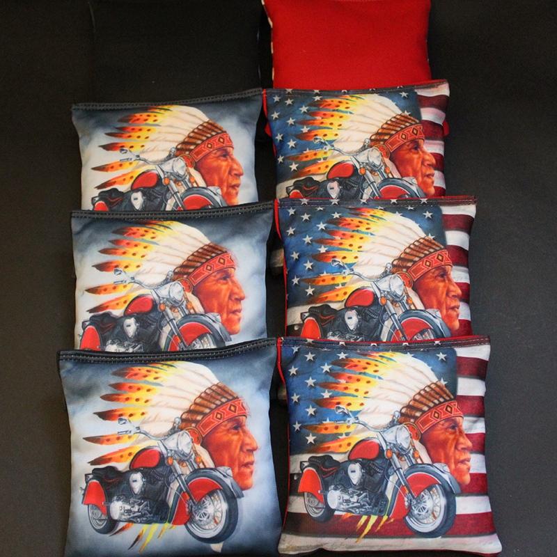 Motorcycle Native Traveler 8 Custom Bags